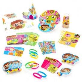 Littlest Pet Shop Birthday Party Supplies Pack for 8 - Walmart.com